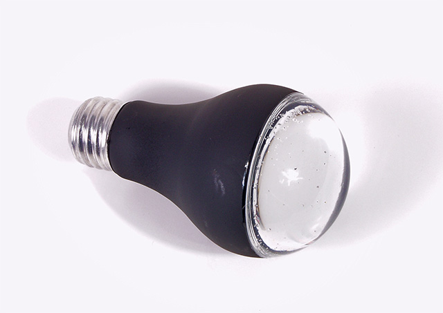 Spray Paint Light Bulb
